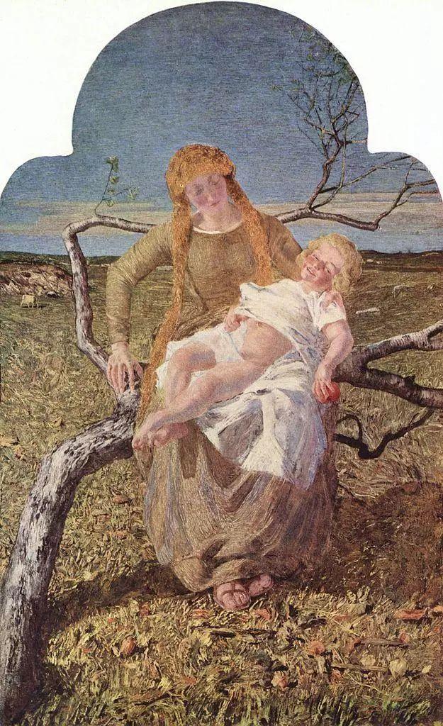 """英年早逝,从事艺术20年,被世人称为""""农民画家""""的Segantini插图27"""