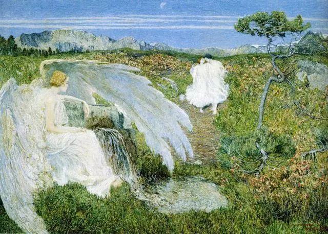 """英年早逝,从事艺术20年,被世人称为""""农民画家""""的Segantini插图28"""