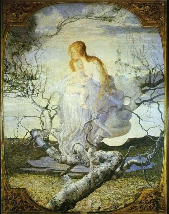 """英年早逝,从事艺术20年,被世人称为""""农民画家""""的Segantini插图29"""