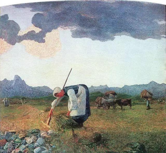 """英年早逝,从事艺术20年,被世人称为""""农民画家""""的Segantini插图31"""