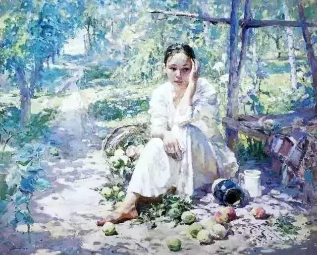 王沂东:姜奇的画流光溢彩,酣畅淋漓插图2