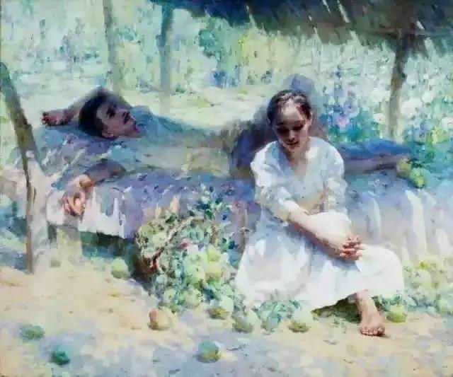 王沂东:姜奇的画流光溢彩,酣畅淋漓插图7