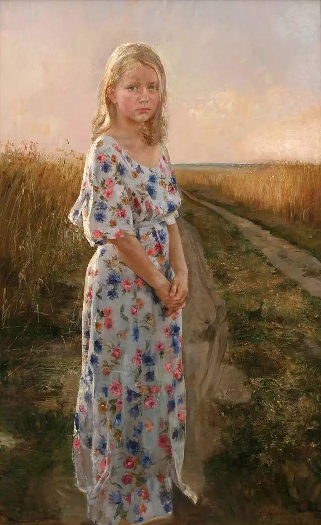 她笔下的孩子都这么美,俄罗斯女画家娜塔莎·米拉舍维奇插图