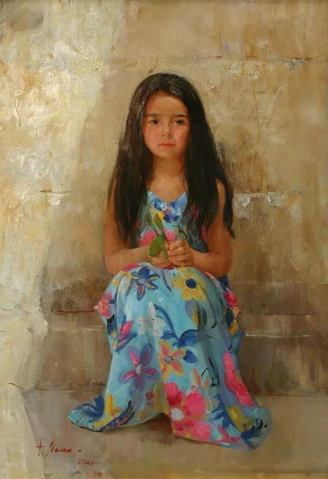 她笔下的孩子都这么美,俄罗斯女画家娜塔莎·米拉舍维奇插图2