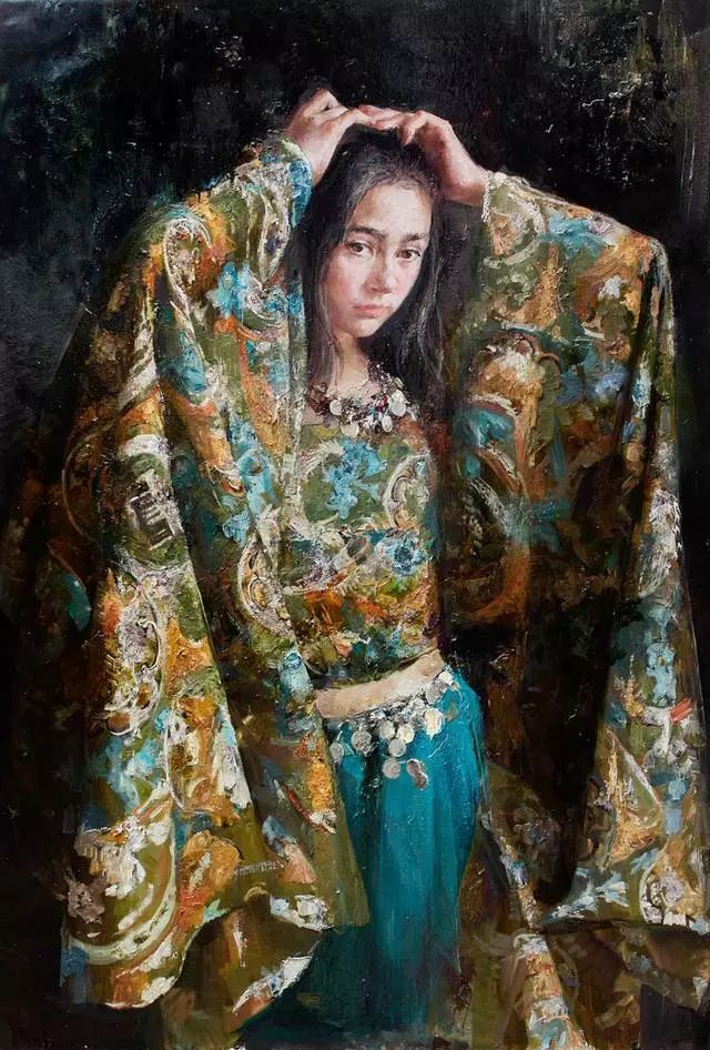 她笔下的孩子都这么美,俄罗斯女画家娜塔莎·米拉舍维奇插图3