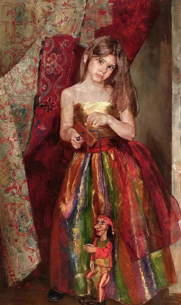 她笔下的孩子都这么美,俄罗斯女画家娜塔莎·米拉舍维奇插图4