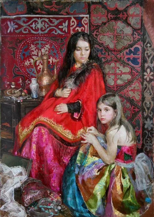 她笔下的孩子都这么美,俄罗斯女画家娜塔莎·米拉舍维奇插图6