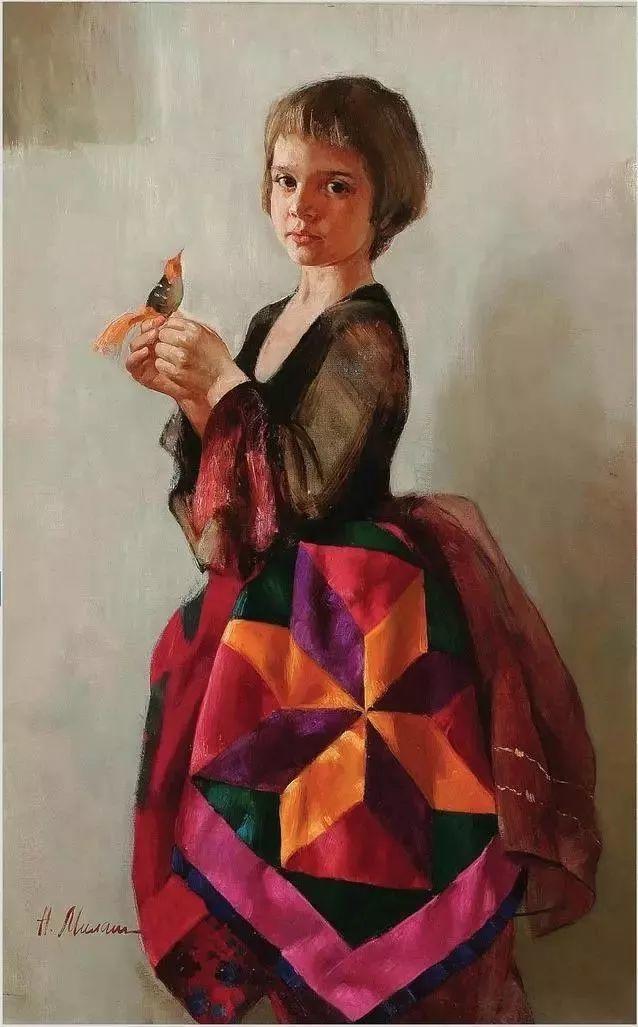 她笔下的孩子都这么美,俄罗斯女画家娜塔莎·米拉舍维奇插图10