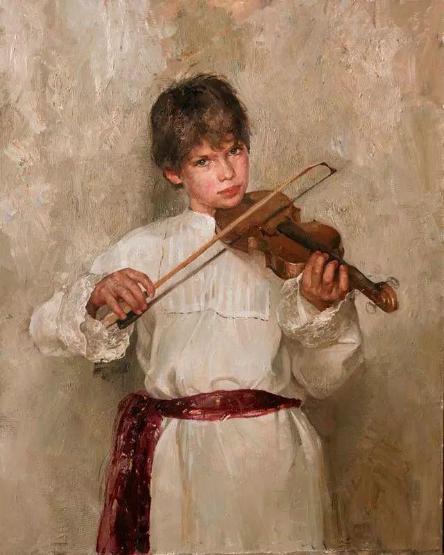 她笔下的孩子都这么美,俄罗斯女画家娜塔莎·米拉舍维奇插图11