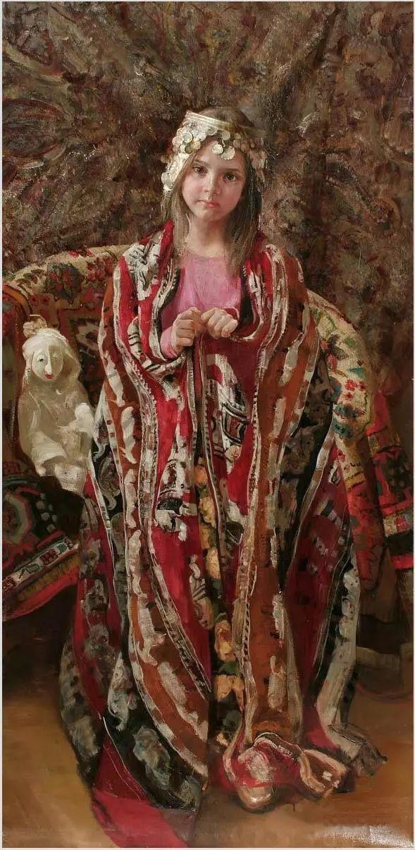 她笔下的孩子都这么美,俄罗斯女画家娜塔莎·米拉舍维奇插图13