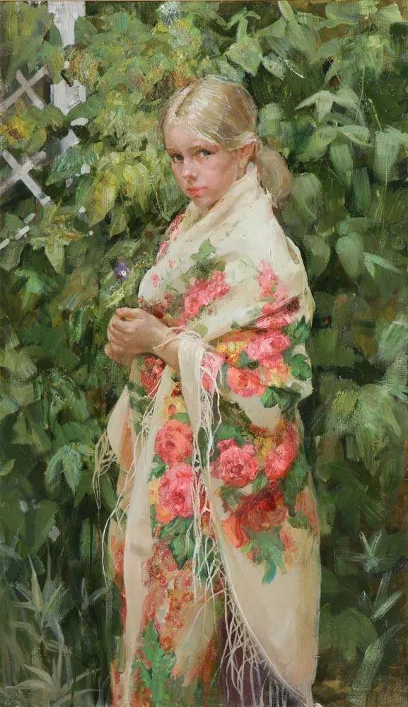 她笔下的孩子都这么美,俄罗斯女画家娜塔莎·米拉舍维奇插图14