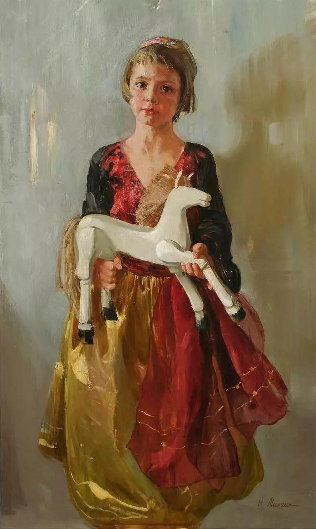 她笔下的孩子都这么美,俄罗斯女画家娜塔莎·米拉舍维奇插图15