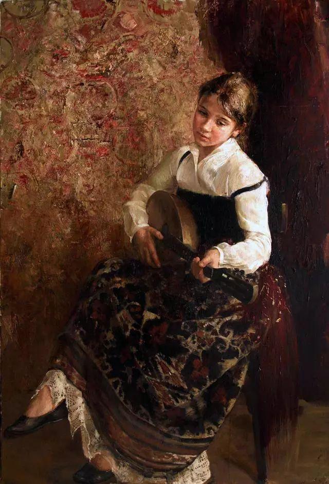 她笔下的孩子都这么美,俄罗斯女画家娜塔莎·米拉舍维奇插图16
