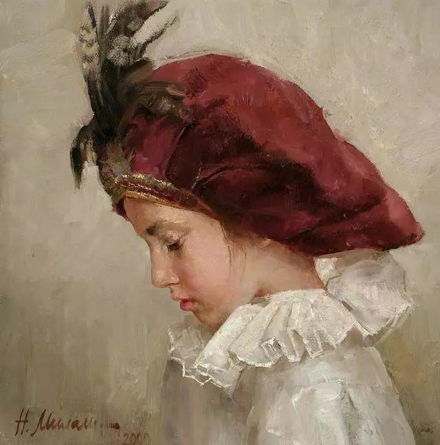 她笔下的孩子都这么美,俄罗斯女画家娜塔莎·米拉舍维奇插图18