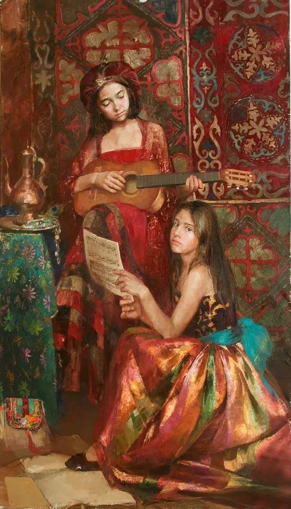 她笔下的孩子都这么美,俄罗斯女画家娜塔莎·米拉舍维奇插图19