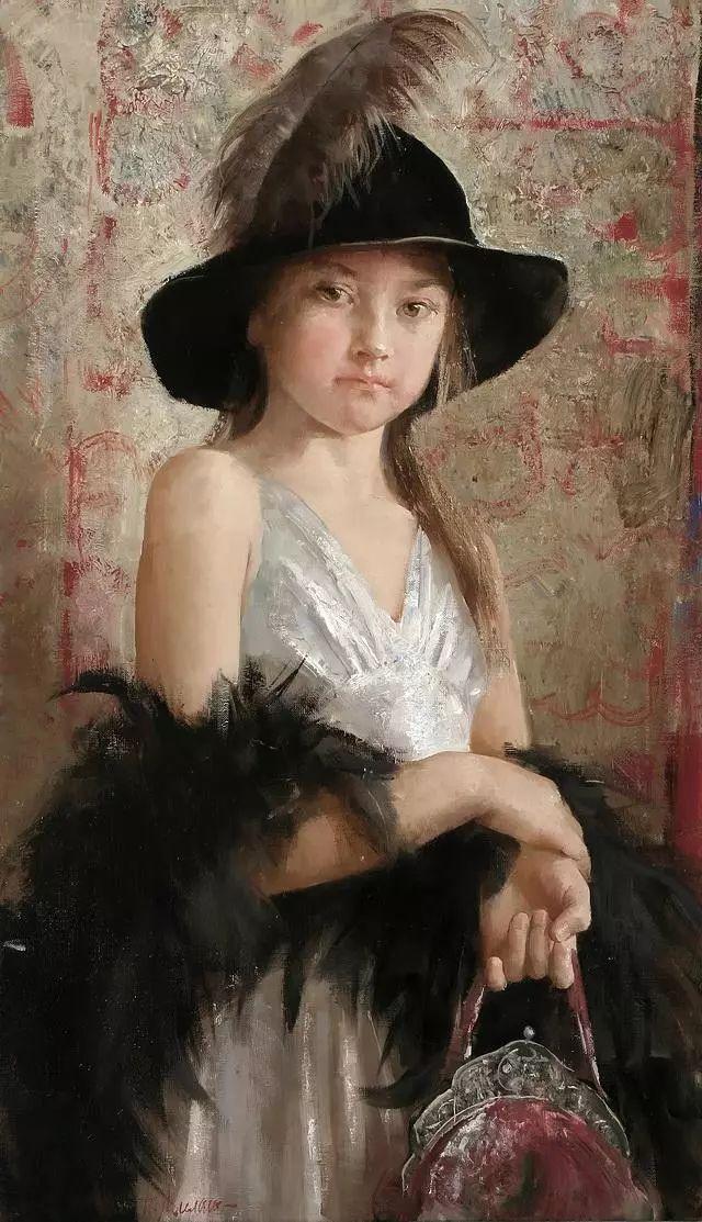 她笔下的孩子都这么美,俄罗斯女画家娜塔莎·米拉舍维奇插图22