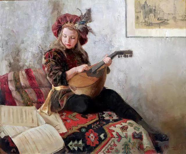 她笔下的孩子都这么美,俄罗斯女画家娜塔莎·米拉舍维奇插图25