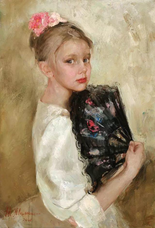 她笔下的孩子都这么美,俄罗斯女画家娜塔莎·米拉舍维奇插图27