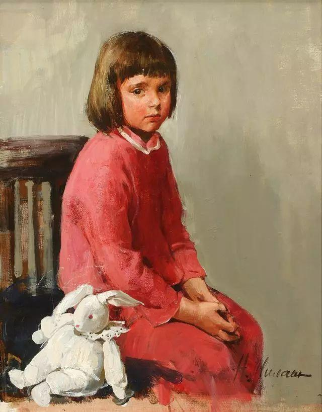 她笔下的孩子都这么美,俄罗斯女画家娜塔莎·米拉舍维奇插图29