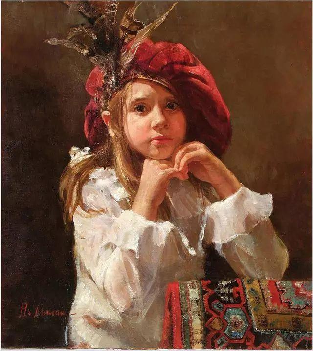 她笔下的孩子都这么美,俄罗斯女画家娜塔莎·米拉舍维奇插图31