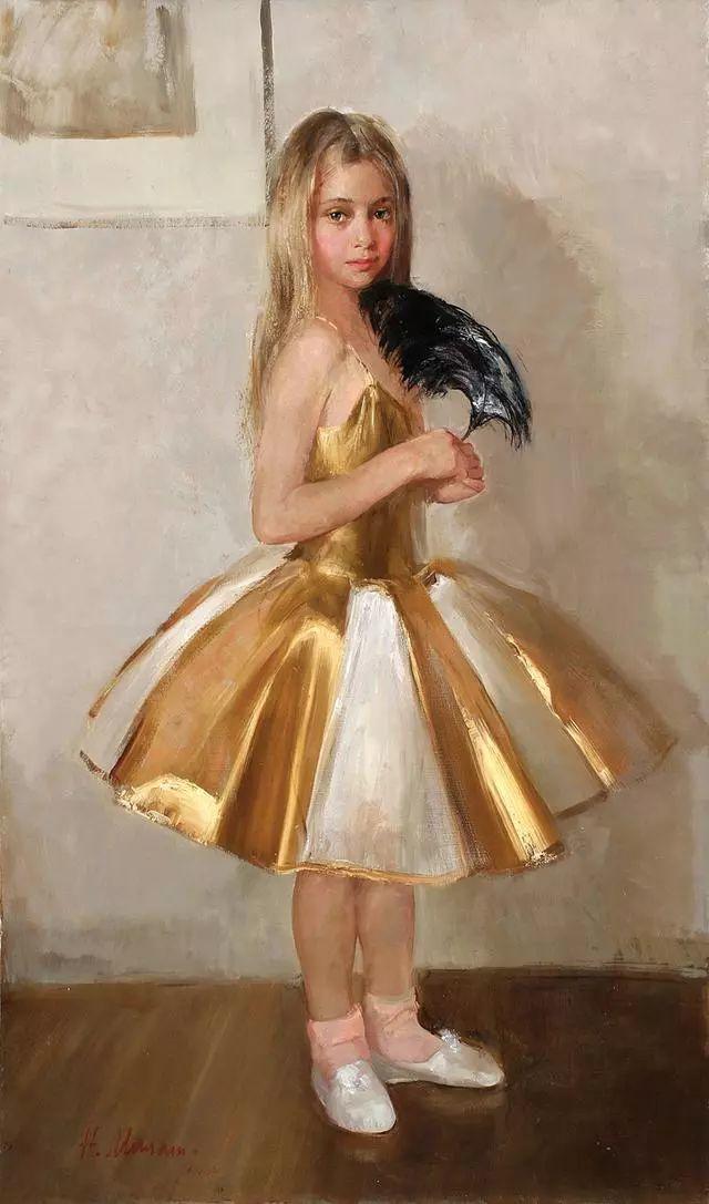 她笔下的孩子都这么美,俄罗斯女画家娜塔莎·米拉舍维奇插图33