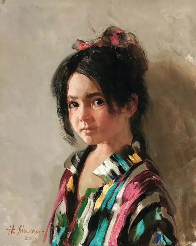 她笔下的孩子都这么美,俄罗斯女画家娜塔莎·米拉舍维奇插图34