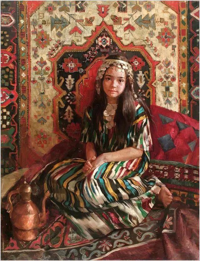 她笔下的孩子都这么美,俄罗斯女画家娜塔莎·米拉舍维奇插图35