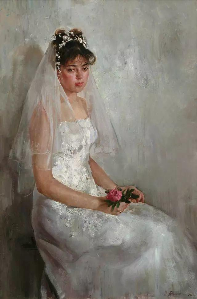 她笔下的孩子都这么美,俄罗斯女画家娜塔莎·米拉舍维奇插图37