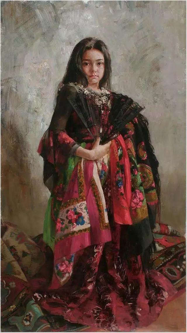 她笔下的孩子都这么美,俄罗斯女画家娜塔莎·米拉舍维奇插图40