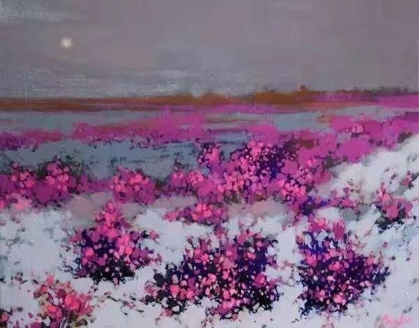 这位哈萨克斯坦美女,从小失聪,却能画出这世界上最美的色彩插图6