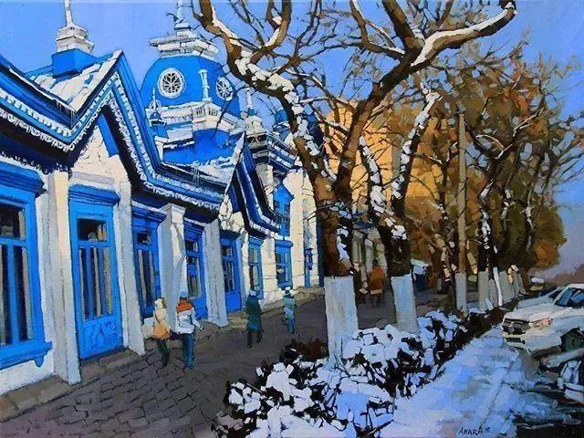 这位哈萨克斯坦美女,从小失聪,却能画出这世界上最美的色彩插图17
