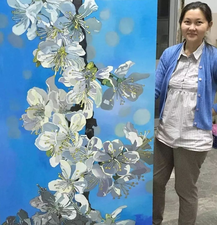 这位哈萨克斯坦美女,从小失聪,却能画出这世界上最美的色彩插图21