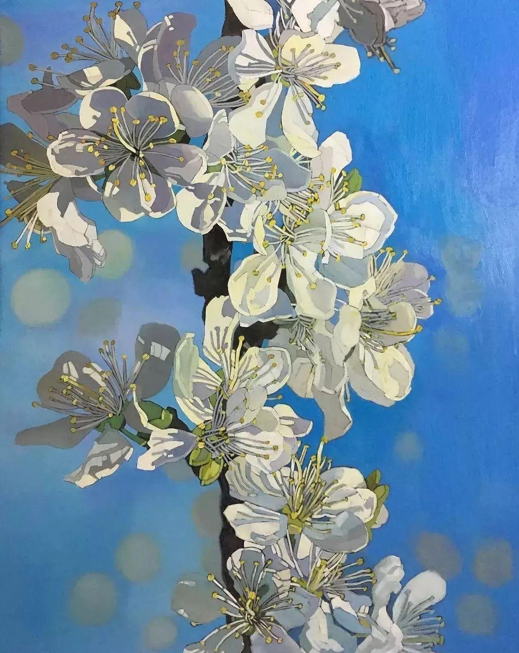 这位哈萨克斯坦美女,从小失聪,却能画出这世界上最美的色彩插图22