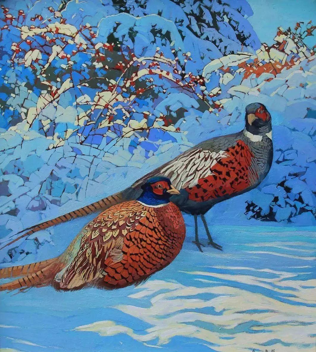 这位哈萨克斯坦美女,从小失聪,却能画出这世界上最美的色彩插图54