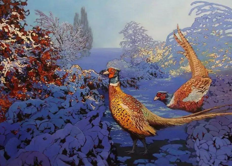 这位哈萨克斯坦美女,从小失聪,却能画出这世界上最美的色彩插图55