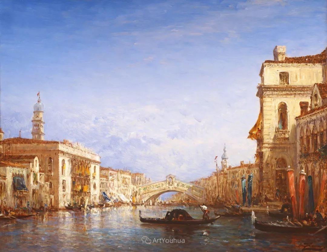 海中的城,气势恢宏——法国画家Felix Ziem插图8