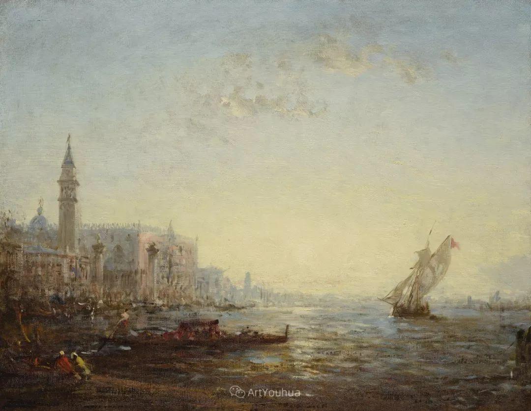 海中的城,气势恢宏——法国画家Felix Ziem插图21