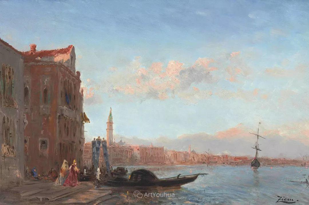 海中的城,气势恢宏——法国画家Felix Ziem插图25
