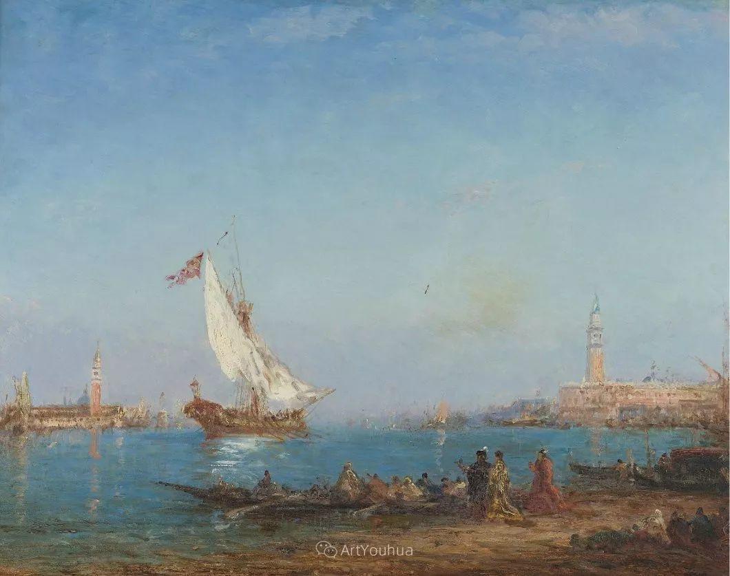 海中的城,气势恢宏——法国画家Felix Ziem插图33
