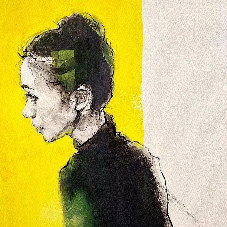 惊艳的马赛克画风,她将女人的柔美与绚烂,表现的淋漓尽致插图2