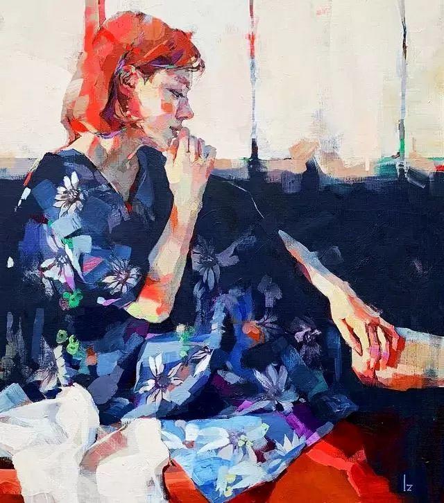 惊艳的马赛克画风,她将女人的柔美与绚烂,表现的淋漓尽致插图3