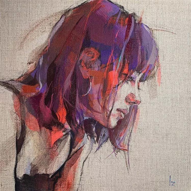 惊艳的马赛克画风,她将女人的柔美与绚烂,表现的淋漓尽致插图11