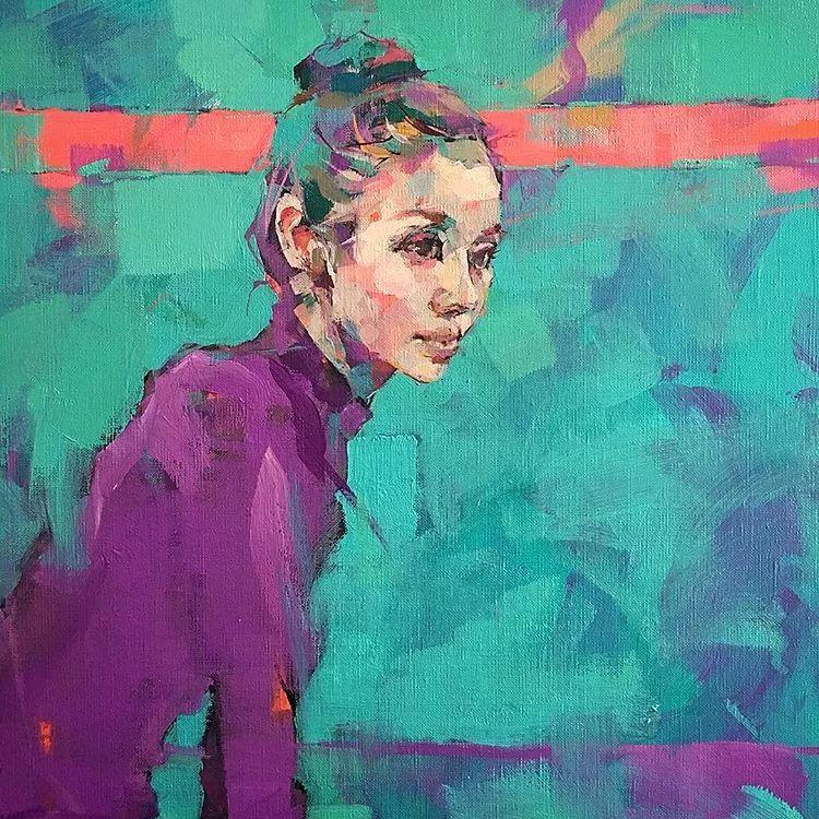 惊艳的马赛克画风,她将女人的柔美与绚烂,表现的淋漓尽致插图13