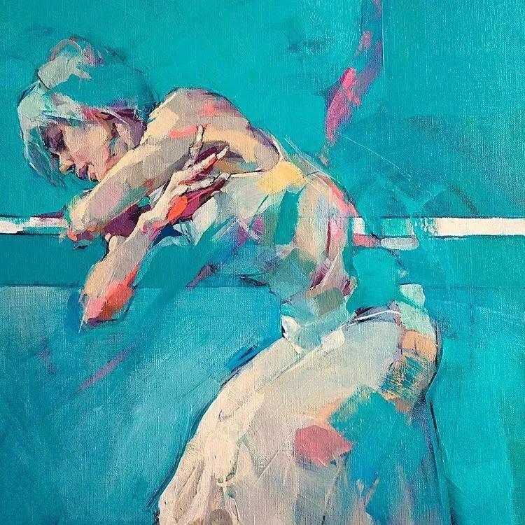 惊艳的马赛克画风,她将女人的柔美与绚烂,表现的淋漓尽致插图14