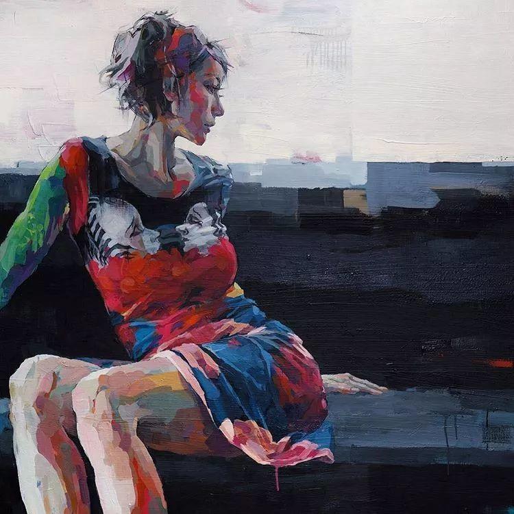 惊艳的马赛克画风,她将女人的柔美与绚烂,表现的淋漓尽致插图15