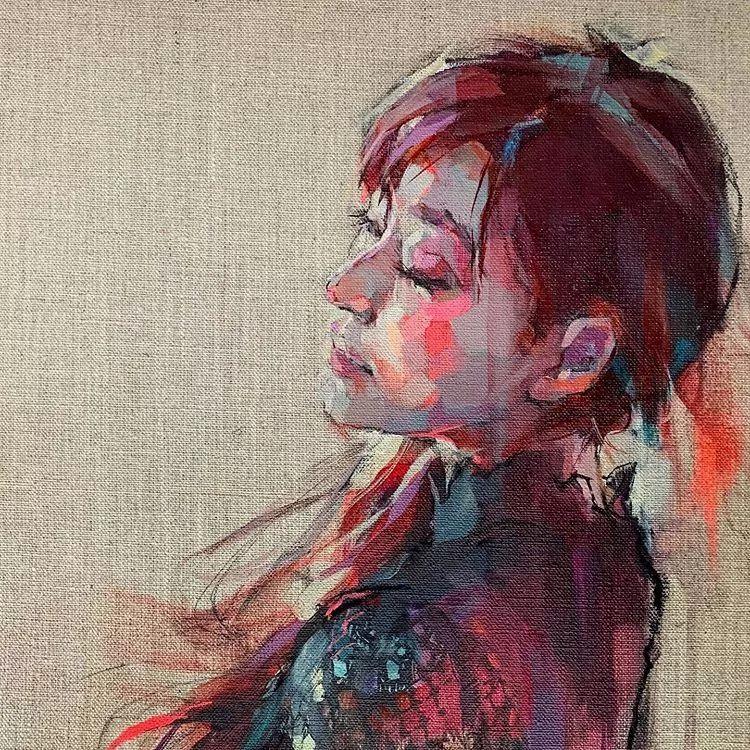惊艳的马赛克画风,她将女人的柔美与绚烂,表现的淋漓尽致插图16