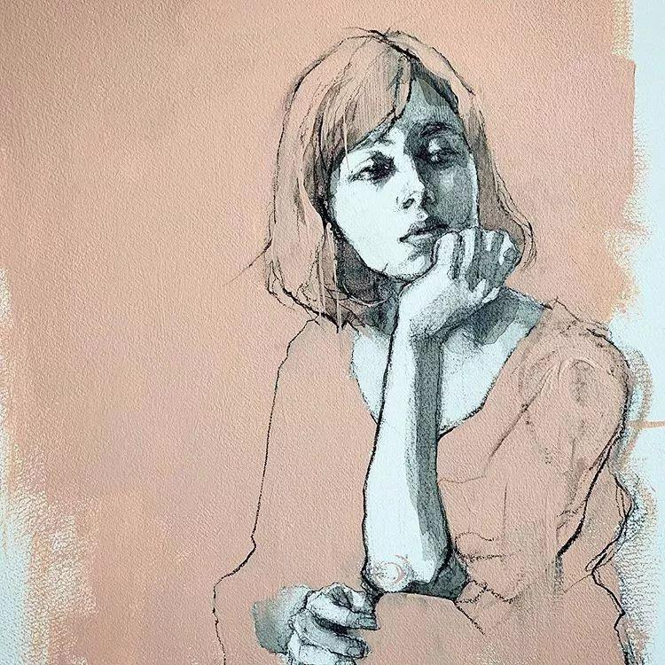 惊艳的马赛克画风,她将女人的柔美与绚烂,表现的淋漓尽致插图18