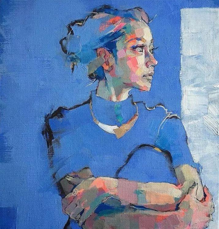 惊艳的马赛克画风,她将女人的柔美与绚烂,表现的淋漓尽致插图22