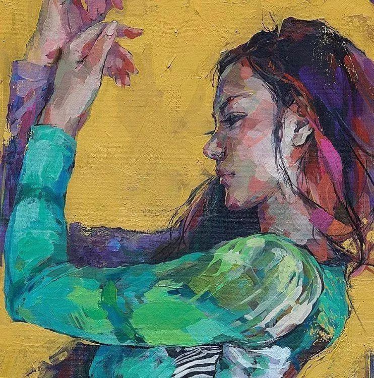 惊艳的马赛克画风,她将女人的柔美与绚烂,表现的淋漓尽致插图25