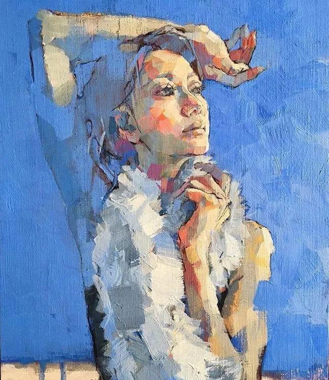 惊艳的马赛克画风,她将女人的柔美与绚烂,表现的淋漓尽致插图27
